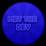 Roblox Hatman Simulator - Badge You met a developer!