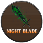 Roblox King Legacy - Shop Item Night Blade