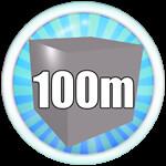 Roblox Mining Simulator - Badge Mine 100M Blocks