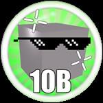 Roblox Mining Simulator - Badge Mine 10B Blocks