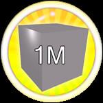 Roblox Mining Simulator - Badge Mine 1M Blocks