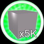 Roblox Mining Simulator - Badge Mine 5K Blocks