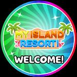 Roblox My Island Resort - Badge Welcome!