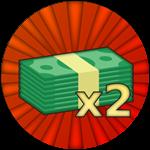 Roblox Outbreak - Shop Item 2x Cash