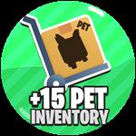 Roblox Super Strong Simulator - Shop Item +15 Pet Inventory