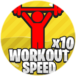 Roblox Super Strong Simulator - Shop Item x10 Workout Speed