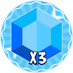 Roblox Tapping Kingdom - Shop Item 3x Gems