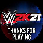 Roblox WWE 2K21 - Badge Thanks for Playing
