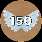 Roblox Wing Simulator - Badge 150 Flaps