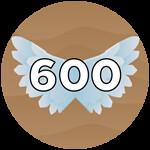 Roblox Wing Simulator - Badge 600 Flaps