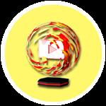 Roblox YouTube Simulator - Badge Flame Plaque