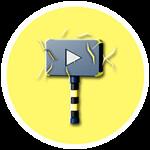 Roblox YouTube Simulator - Badge Lightning Plaque