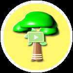 Roblox YouTube Simulator - Badge Nature Plaque