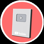 Roblox YouTube Simulator - Badge One Hundred Thousand Subscribers!