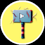 Roblox YouTube Simulator - Badge Red Plaque