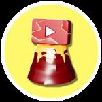 Roblox YouTube Simulator - Badge Volcano Plaque