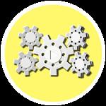 Roblox YouTube Simulator - Badge White Steampunk Plaque