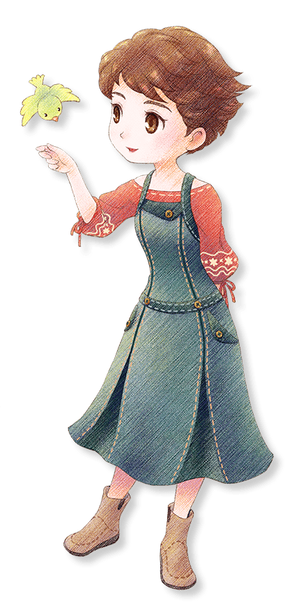 STORY OF SEASONS: Pioneers of Olive Town - List of All Characters & Gifts in Game - Cheat Sheets - Bridget 💜 - D46DE7C