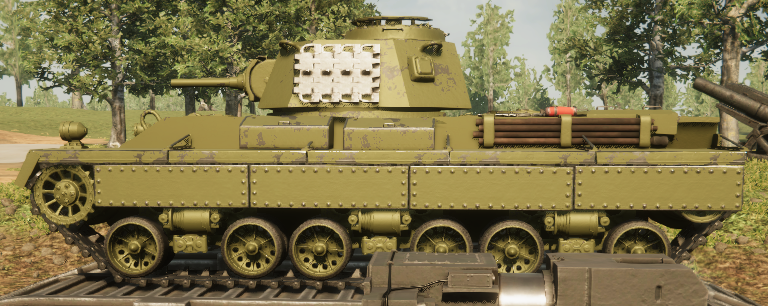 Sprocket - All Tanks in Game and Classes - Early War Tanks Part 1 - CAD326A