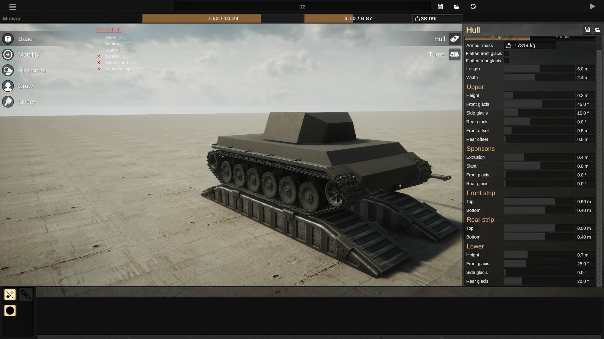 Sprocket - Basic Troubleshooting Steps + Tank Mobility - Base - F78BB8B