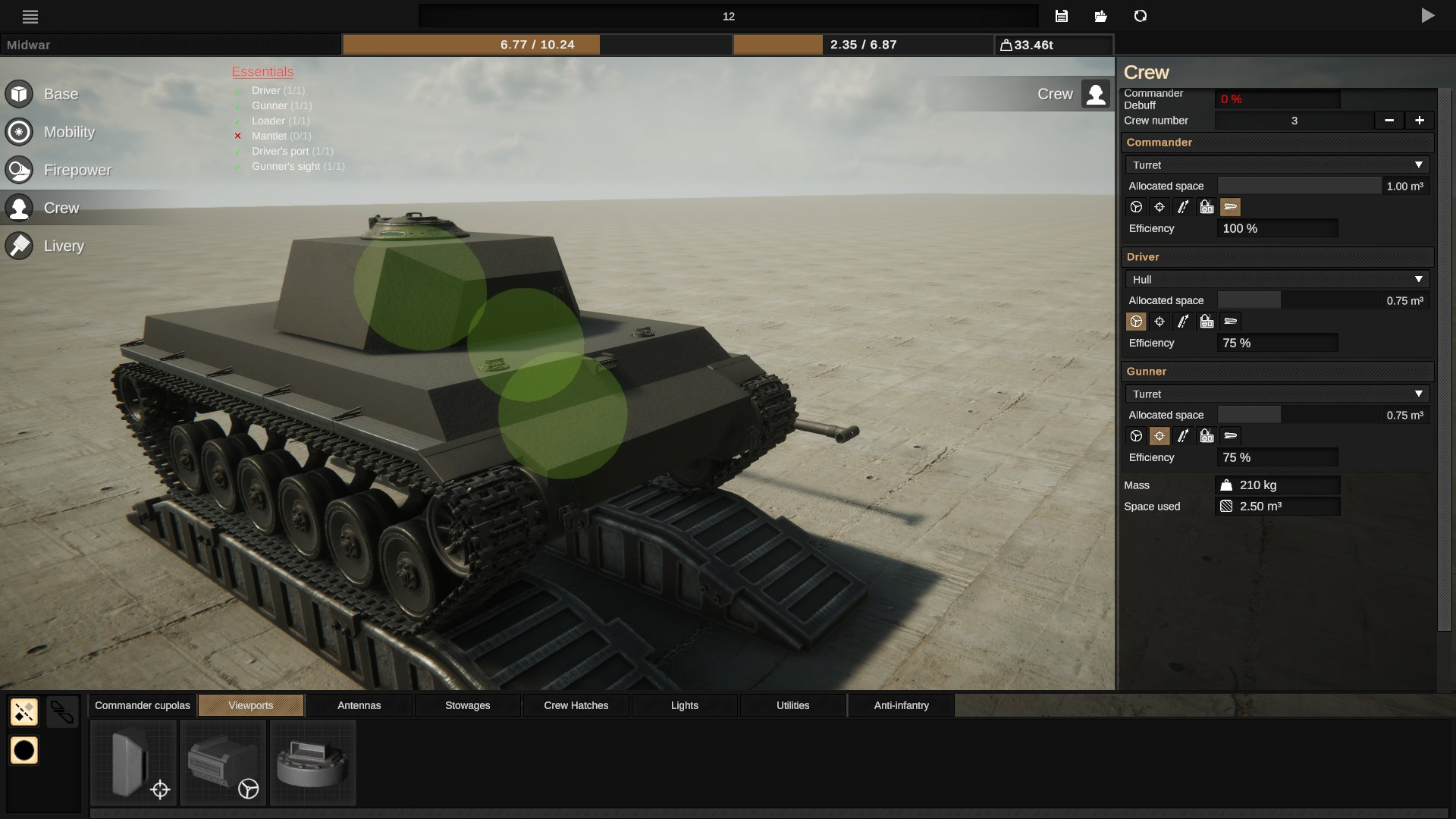 Sprocket - Basic Troubleshooting Steps + Tank Mobility - Crew - 277CA87