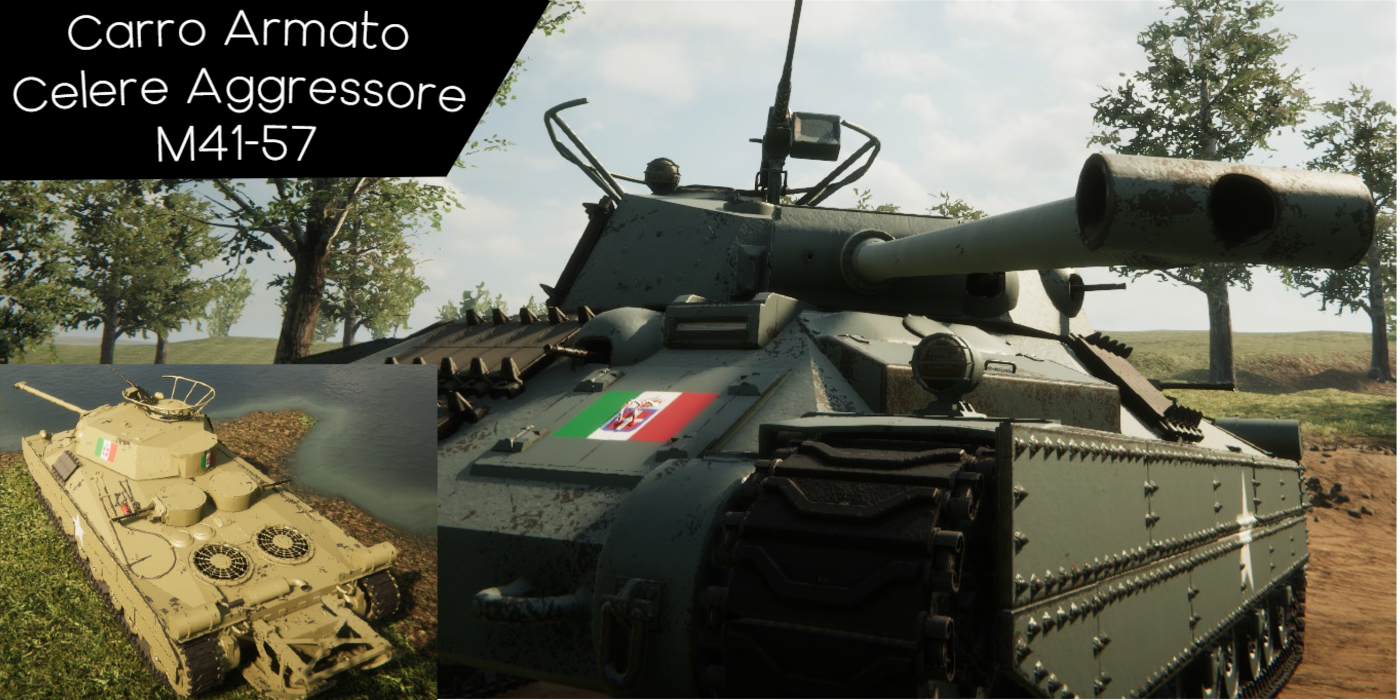 Sprocket - Modding Guide for Allied Italian Forces Pack - VEHICLES - E5970E8