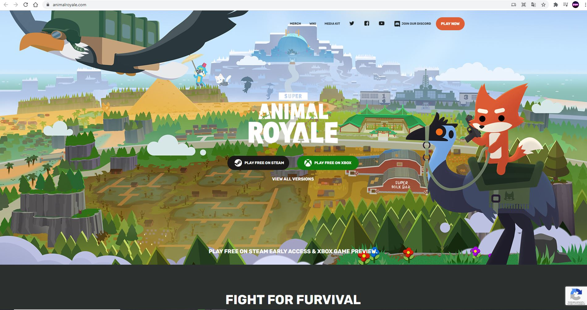 Super Animal Royale - How to Get Blue Hoodie in Game - English version | Website - B1C0E92