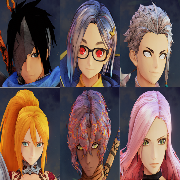 Tales of Arise - Mods/Tools for Creating/Editing Character Eye and Hair Texture Guide - Pictures: - 368ADB3