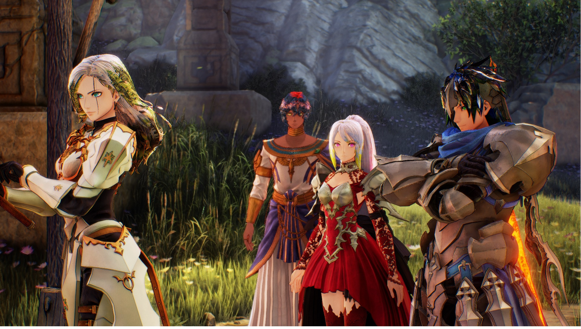 Tales of Arise - Mods/Tools for Creating/Editing Character Eye and Hair Texture Guide - Pictures: - 514EA54