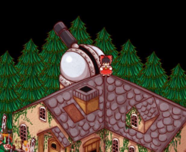 Touhou Shoujo Tale of Beautiful Memories / 東方少女綺想譚 - All Hidden UFO Locations Tips - Forest of magic - 49E95B3