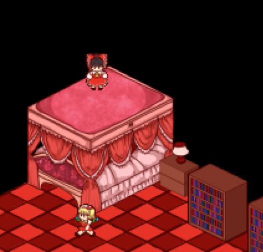 Touhou Shoujo Tale of Beautiful Memories / 東方少女綺想譚 - All Hidden UFO Locations Tips - Scarlet Devil Mansion - 1292177