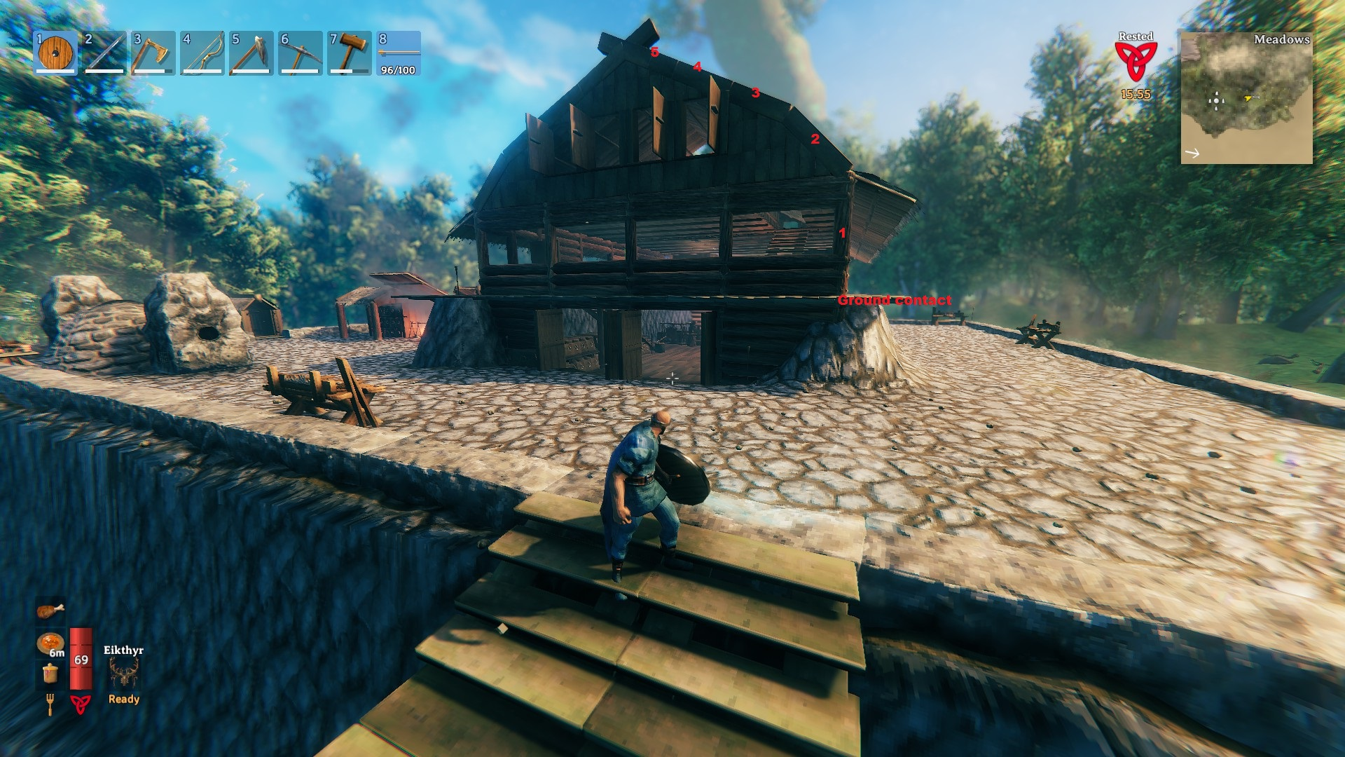 Valheim - Game Mechanics and Gameplay Tips for Beginners - How to build - CA2C3D8