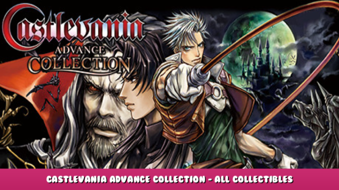 Castlevania Advance Collection – All Collectibles Locations Tips – Map Guide 1 - steamlists.com