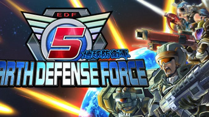 EARTH DEFENSE FORCE 5 – Useful Techniques for Hopping & Dashing + Defending the Earth Strategy 1 - steamlists.com