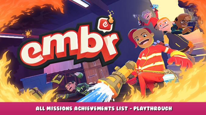 Embr – All Missions Achievements List – Playthrough 1 - steamlists.com