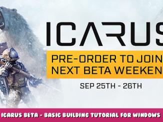 Icarus Beta – Basic Building Tutorial for Windows & Doors 1 - steamlists.com
