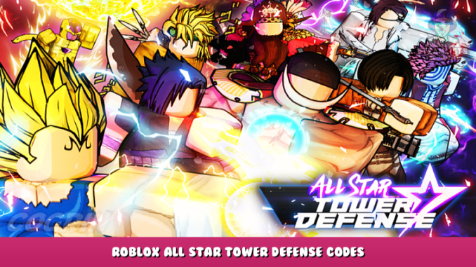 Roblox – All Star Tower Defense Codes – Free Gems, Coins and XP (September 2021) 6 - steamlists.com