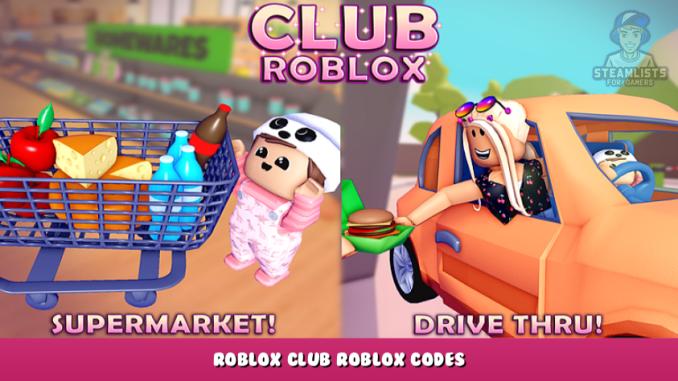 Roblox – Club Roblox Codes – Free Tokens (October 2021) 39 - steamlists.com