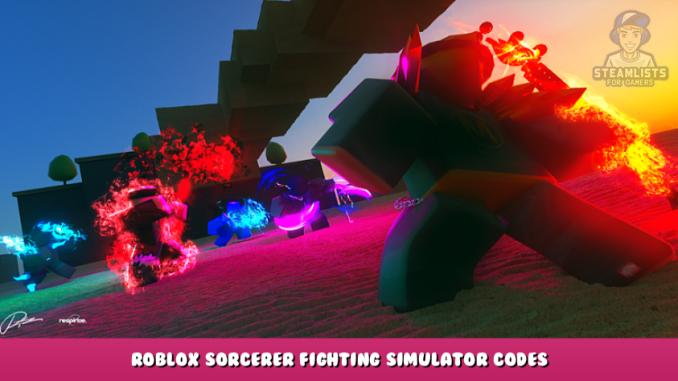 Roblox – Sorcerer Fighting Simulator Codes – Free Gems and Mana (September 2021) 14 - steamlists.com