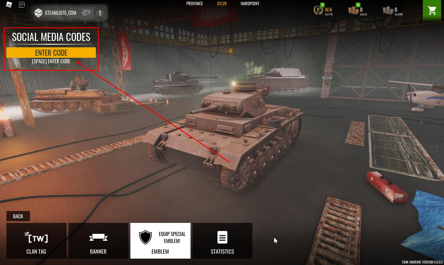 Roblox – Tank Warfare Codes (September 2021) 9 - steamlists.com
