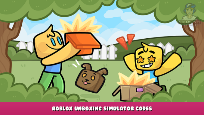Roblox – Unboxing Simulator Codes – Free Coins, Gems, Boosts and Pets (September 2021) 43 - steamlists.com