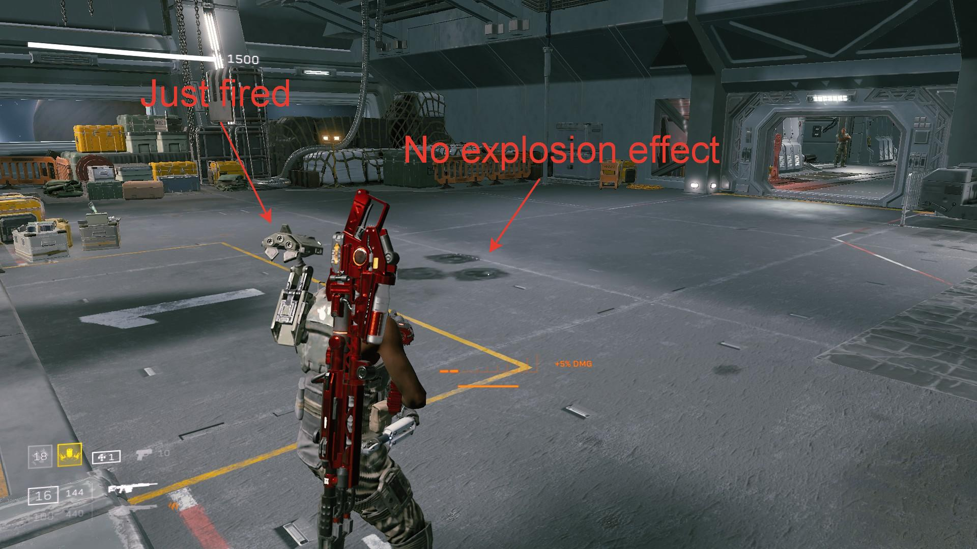 Aliens: Fireteam Elite - How to Remove Muzzle Flashes and Other Effects in Game - Why? - 0C0262B