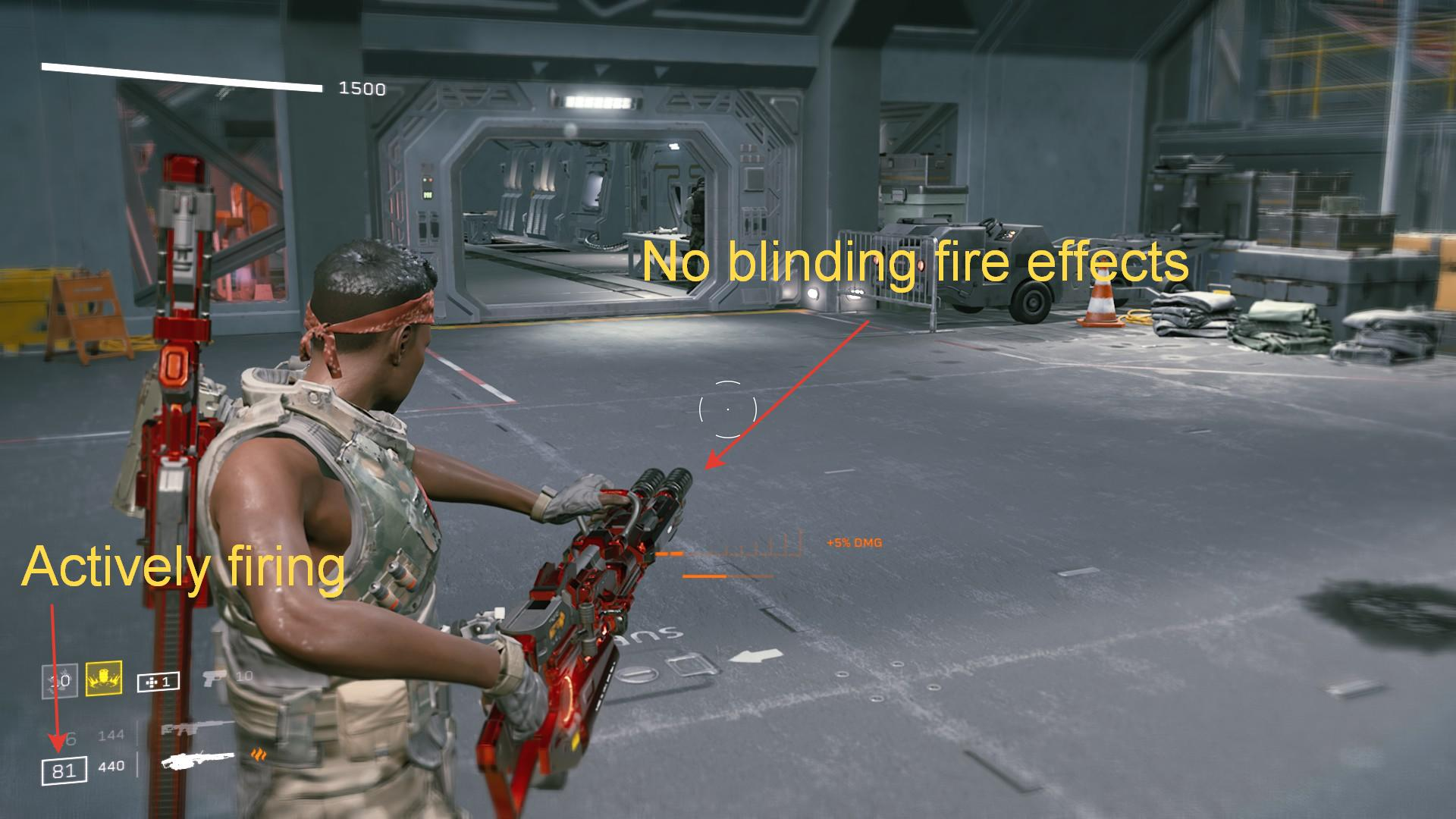 Aliens: Fireteam Elite - How to Remove Muzzle Flashes and Other Effects in Game - Why? - 24A8F19