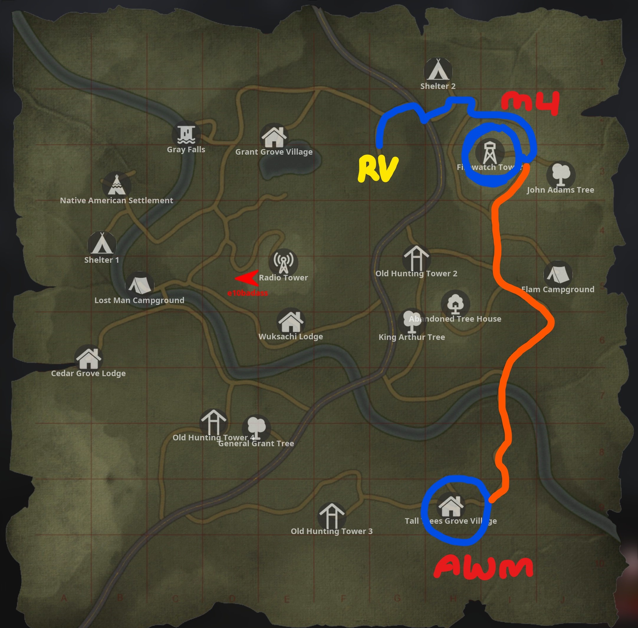 BIGFOOT - BigFoot Map Location Tip - Game Map - 23DCED9
