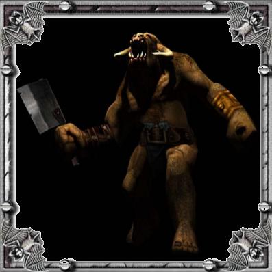 Blade of Darkness - All Enemies Detailed Information - 🟧 Minotaur - DF0BBE8