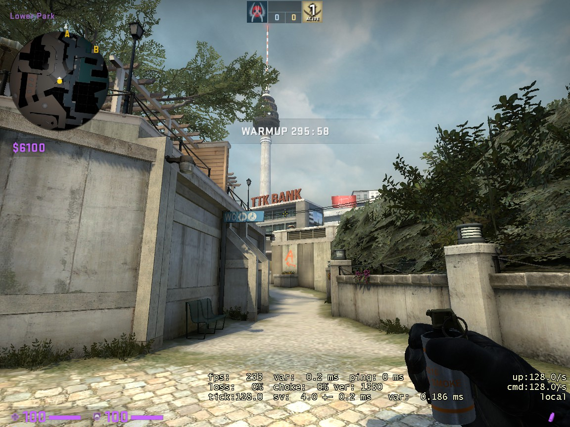 Counter-Strike: Global Offensive - CSGO Overpass Smoke Pattern - FROM BANANA TO BANK - A8BE3F5