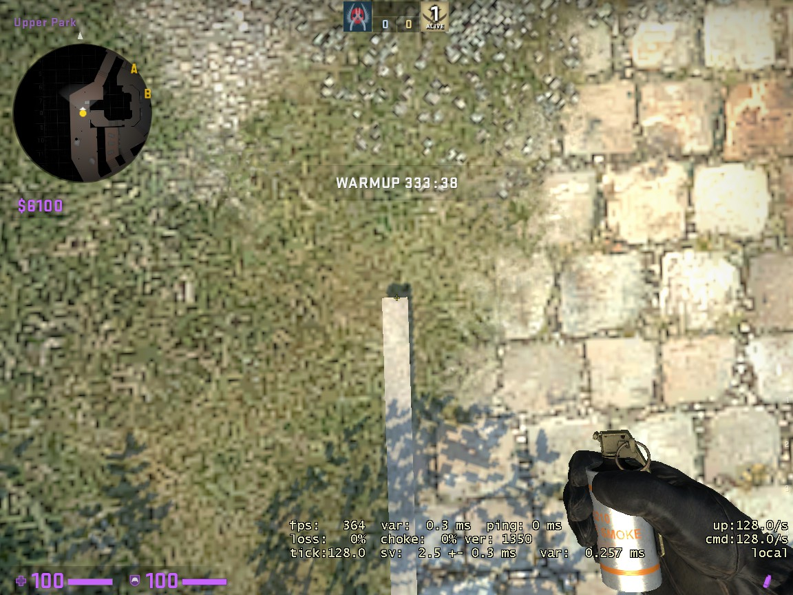 Counter-Strike: Global Offensive - CSGO Overpass Smoke Pattern - FROM LONG TO A SITE - 0BCCB0A