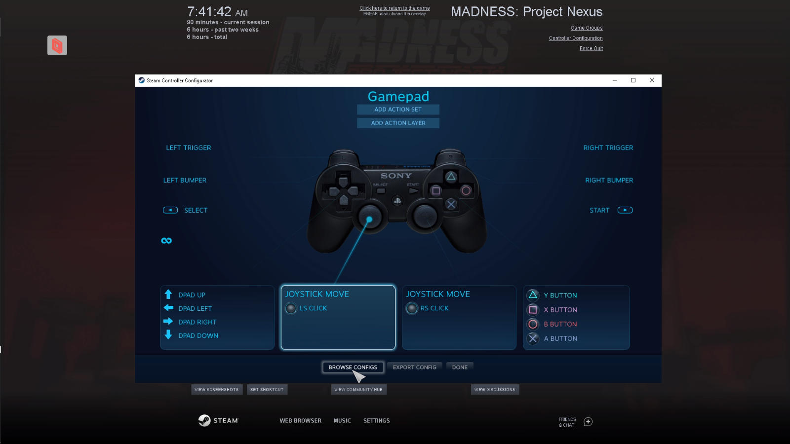 MADNESS: Project Nexus - Controller/Multiplayer Fix Guide - Browse and Templates - 2E68C6B