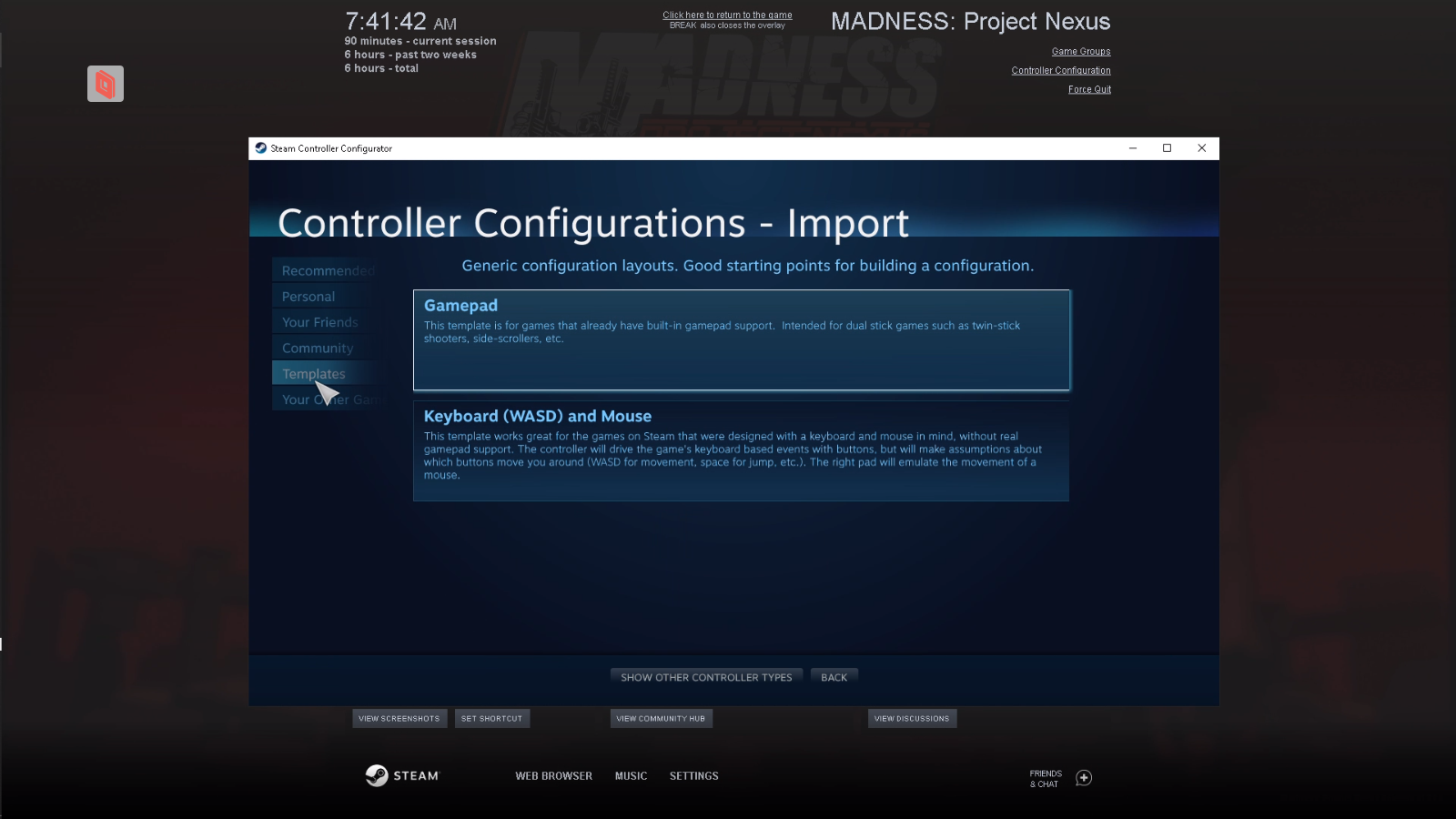 MADNESS: Project Nexus - Controller/Multiplayer Fix Guide - Browse and Templates - EDF7312