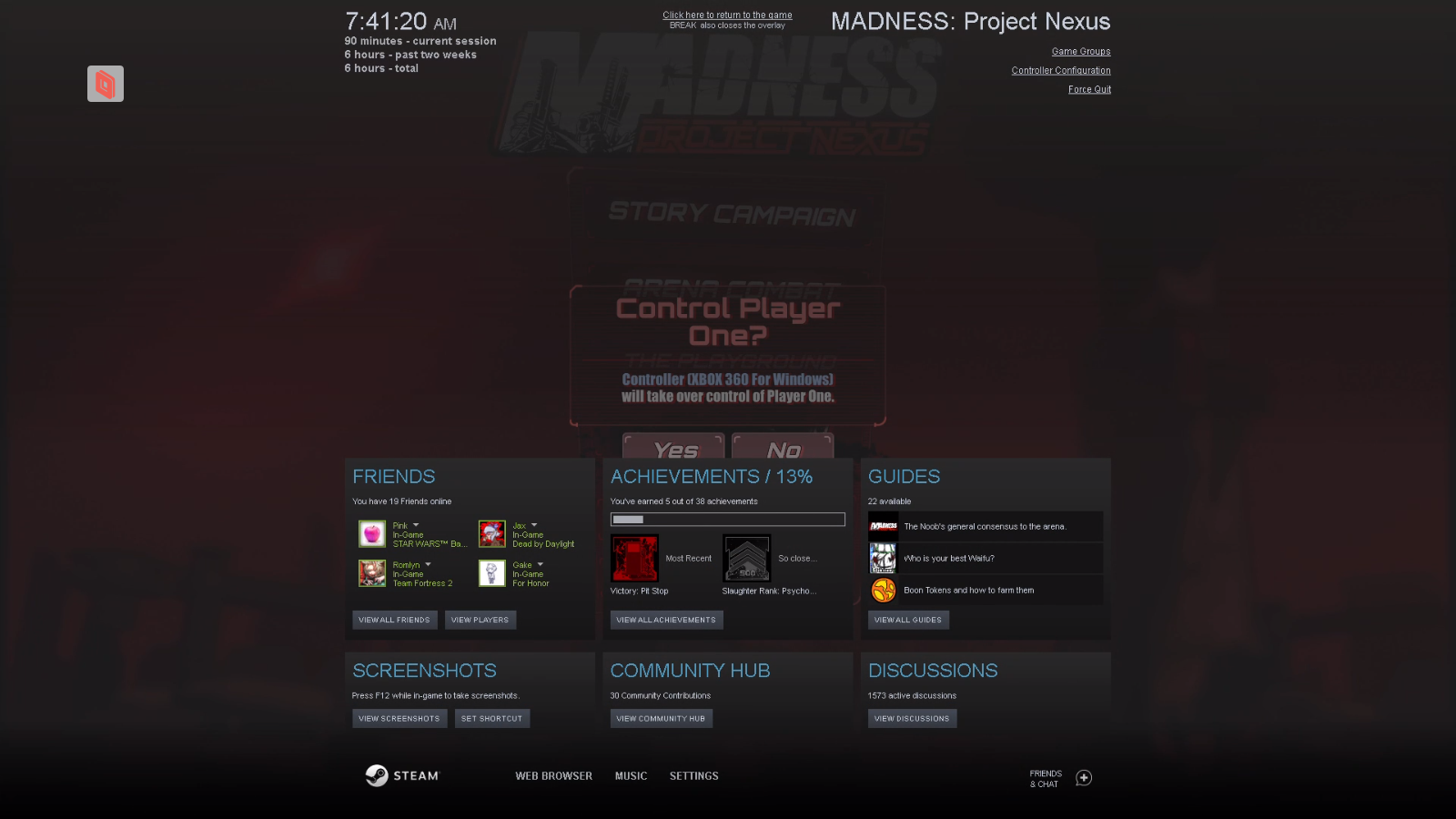 MADNESS: Project Nexus - Controller/Multiplayer Fix Guide - Controller Configuration - CDC3EF9
